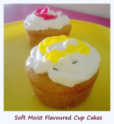 Flavoured Cup Cakes